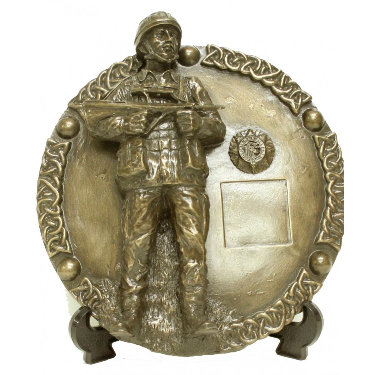 Irish Soldier Wall Plaque (IS10)