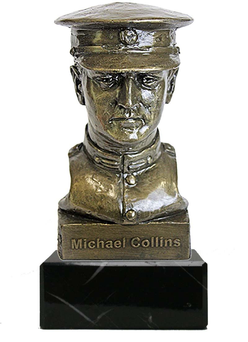 Michael Collins Bust on Marble (HF24M)